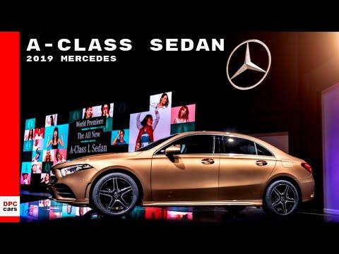 2019 Mercedes A-Class Sedan L Sport At Beijing Motor Show