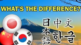 Differences Between Chinese, Japanese, and Korean Writing