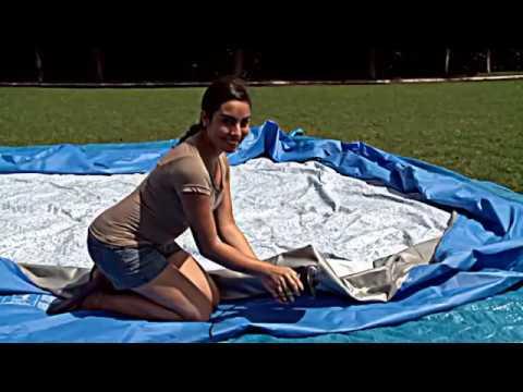 27e9b31111f1 Bestway puhafalú medence telepítése - Aqualing Medenceáruház - YouTube