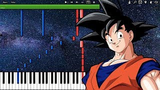 Starring Star! Ending 2 - Dragon Ball Super Ost  Piano Tutorial   Synthesia
