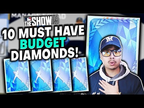 10 MUST HAVE Budget Diamonds In MLB The Show 19 Diamond Dynasty