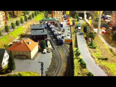 The Old Town Model Train Centre, Fredrikstad (Norway)