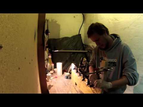 building a laminated takedown recurve - bau eines laminierten takedown bogens