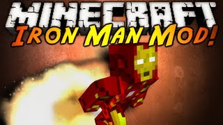 Minecraft Mod Showcase : IRON MAN!
