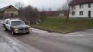 Pontiac Safari Police Car