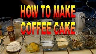 How To Make German Chocolate Coffee Cake