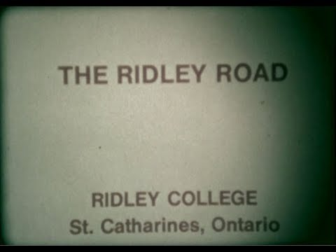 """1970 """"The Ridley Road"""" -  Ridley College St Catharines Ontario Canada"""