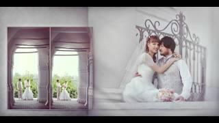 Люкс-вариант свадебной фотокниги