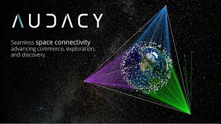 Audacy provides a communication network for space