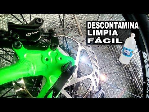 Tips #1 COMO LIMPIAR LOS DISCO DE FRENOS DE TU BICICLETA MTB / how to clean mtb brake discs