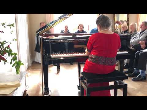 Marcella Crudeli plays F. Chopin - Scherzo n.2 op.31- Concert in Berlin