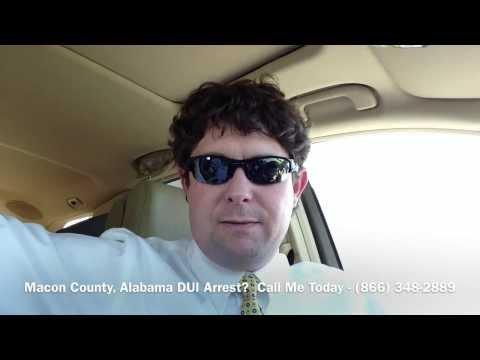 Macon County, Alabama DUI Lawyer - Attorney for Macon County, AL DUI Arrest