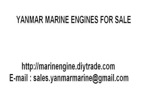 YANMAR MARINE DIESEL ENGINES FOR SALE