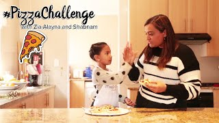 Pizza in His Pocket Challenge | Zia-Alayna & Shabnam