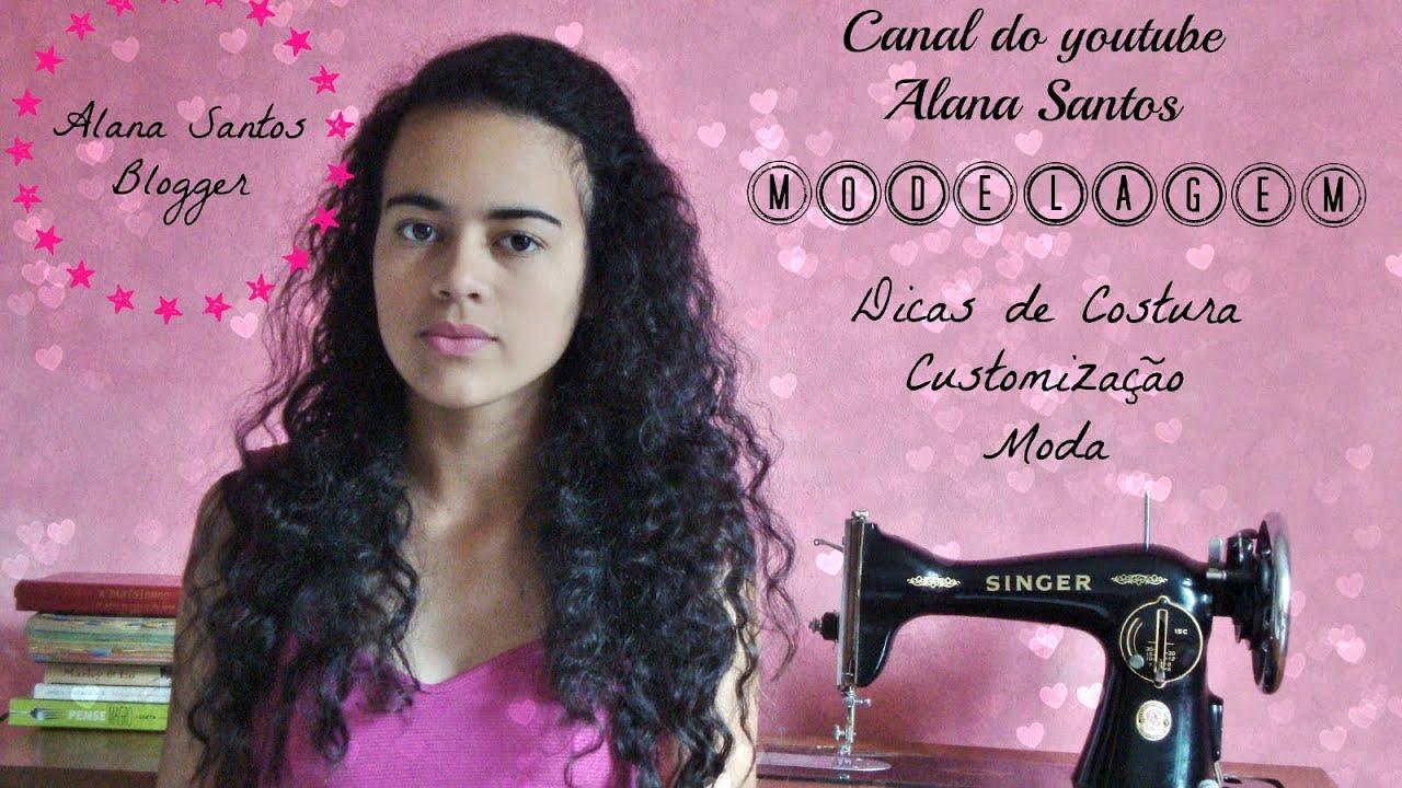 3c2301c498 Aprenda a costurar short e pijama por Alana Santos Blogger - YouTube