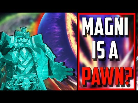 Is Magni A Pawn of the Old Gods? - World of Warcraft