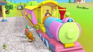Gaadi Aayi Plane Aaya   Kids Rhymes Hindi   Bal Geet   Nursery Rhymes in Hindi by LittleTreehouse