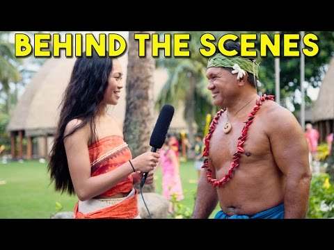 Behind the Scenes with the Polynesian Cultural Center with Angeline, Moana/Vaiana from WWL