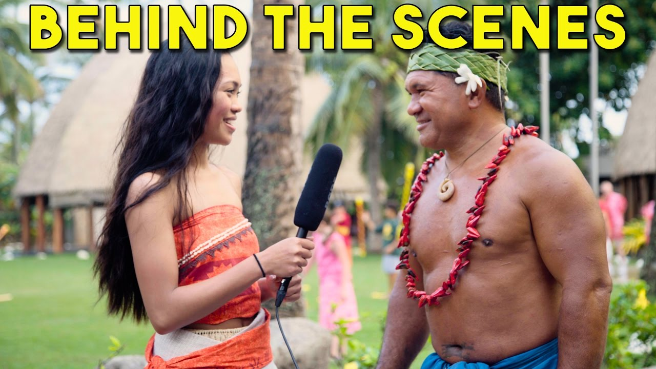 Download Behind the Scenes with the Polynesian Cultural Center with Angeline, Moana/Vaiana from WWL