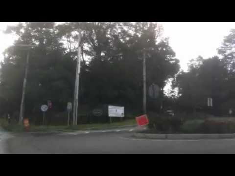 Drive up Adam St in Milton, MA