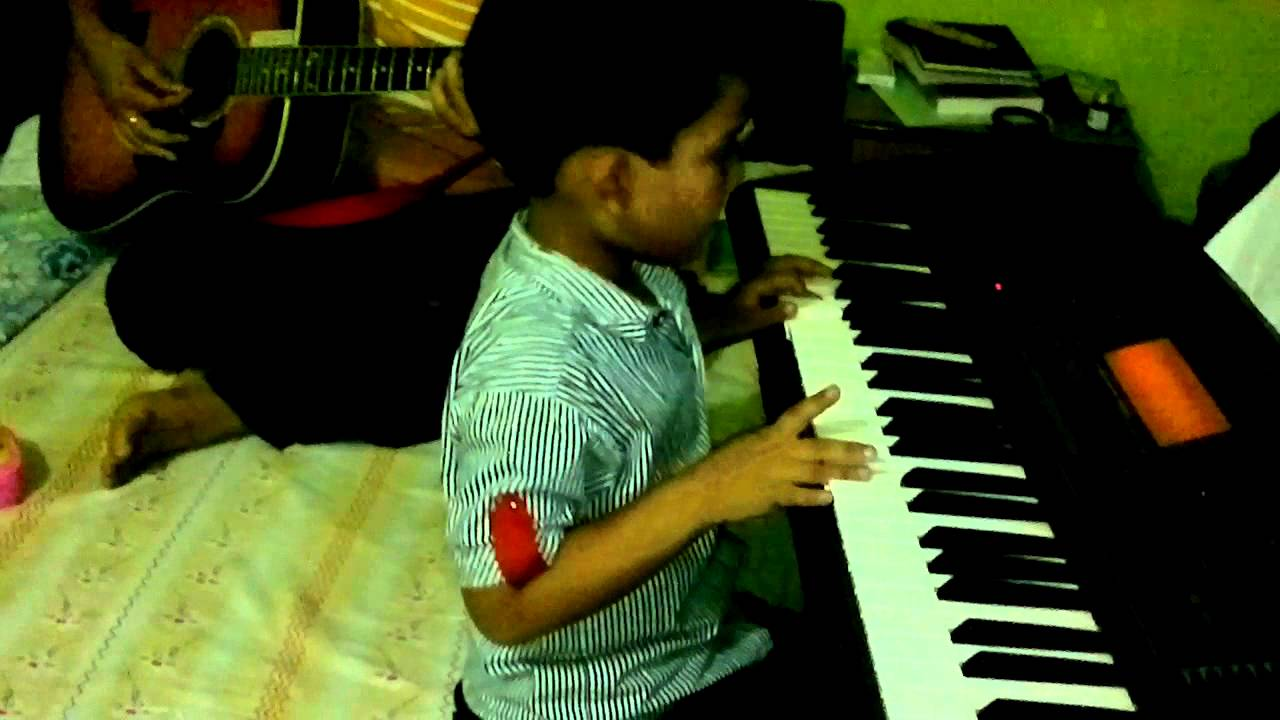 Showers Of Blessings Piano By Six Years Old Youtube