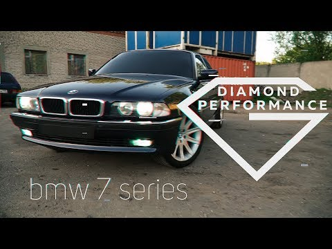 Обзор BMW 730 (e38) от Diamond Performance . Идеальный вариант для начинающих . Коррекция ЛКП. #кайф