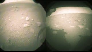 NASA'nın Aracı Perseverance Mars'a İniş Yaptı! Marstan Harika Görüntüler Yolladı