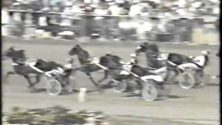 Horse Racing Harness   Little Brown Jug Elim 1 1991 Nuke Skywalker