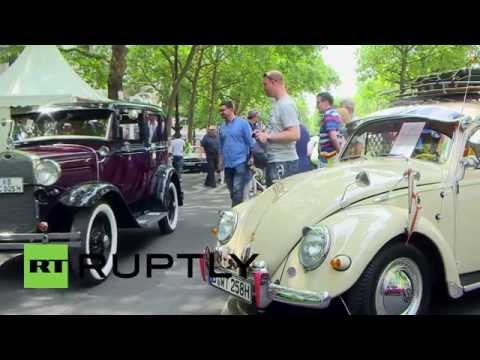 Germany: Classic cars get revved up to show and shine in Berlin