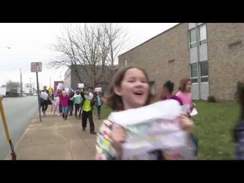 Walk for Selma -- Lincoln Elementary Performing Arts School