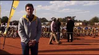 Qhubeka Bicycle Handover 2013