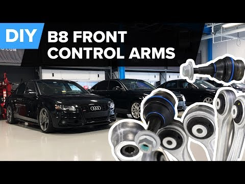 Audi B8 (A4, A5, S4, S5, & Q5) Front Control Arm Replacement – DIY