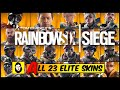 ALL 23 ELITE SKINS MVP ANIMATIONS - OFFICIAL RELEASED SKIN ONLY! Rainbow Six Siege - SLEDGE to SMOKE