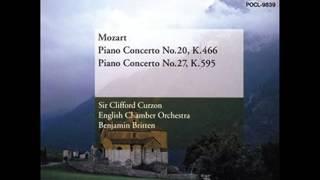モーツァルト:ピアノ協奏曲第27番:カーゾン(p)/ブリテン/イギリス室内o