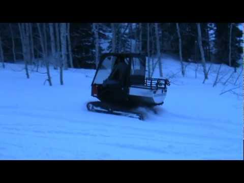 Lite Trax 1000 P2 Snow Vehicle