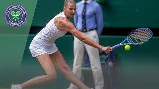 HSBC Play of the Day - Karolina Pliskova | Wimbledon 2019