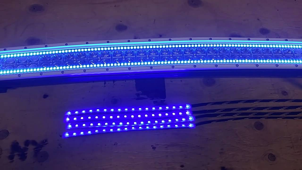 Light bar halo and footwell lights youtube light bar halo and footwell lights mozeypictures Image collections