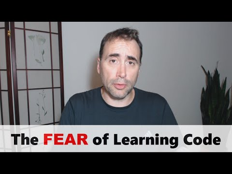 The Fear of Learning to Code