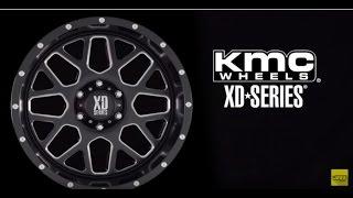American Racing XD Series KMC Wheels Rims Off Road Truck Pickup Black Chrome