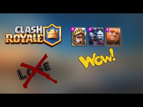 Clash Royal |(New) BEST DECK FOR ARENA 4&5 OMG NEW BEST ECONOMIC AND FAST DECK 2016!