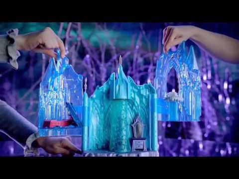 Ледяной замок с куклой Эльзой из м/ф Холодное сердце со световыми эффектами