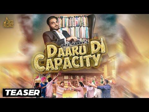 Daaru Di Capacity | ( Teaser) | Jazz Hardy | New Punjabi Songs 2017 | Latest Punjabi Songs 2017