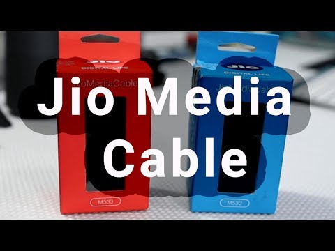 Jio Media Cable - Look, Review, Sale (Flipkart, Snapdeal, Amazon)
