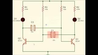 Transistor Astable Multivibrator