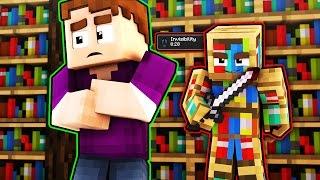 INVISIBLE MURDERER?! (Minecraft Murder Mystery)