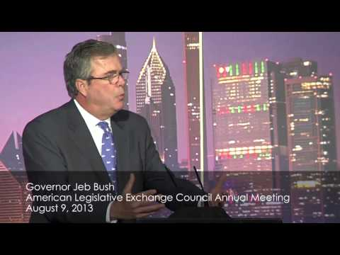 Governor Jeb Bush: High Standards Are Critical Part of Education Reform