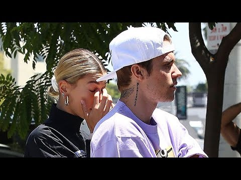 Is Hailey Baldwin Crying After She And Justin Bieber Leave Church?