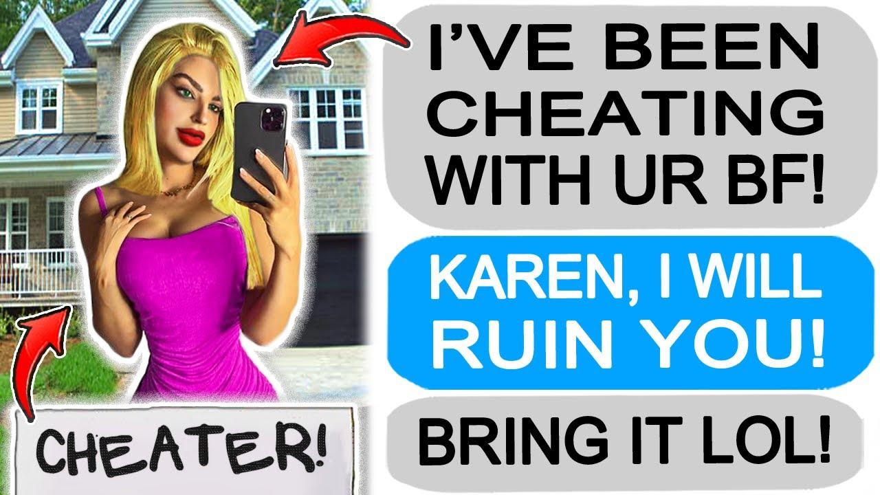 Karen CHEATED with my BF so I got REVENGE! r/Entitledparents