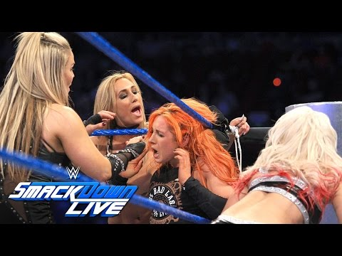 Nikki Bella, Becky Lynch & Naomi vs....