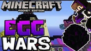 Minecraft PE EGG WARS Server!! İP [İNPVP]
